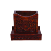 Rich Carved Card Holder