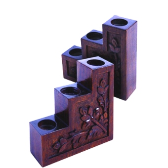 Tri-step Candle Stand