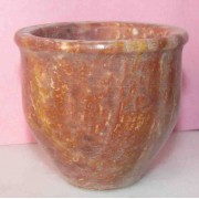 Round Base Brown Candle Hiolder