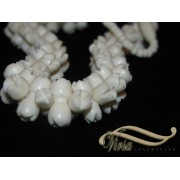 Camel Bone Jasmine Necklace