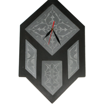 Polygon Wall Clock