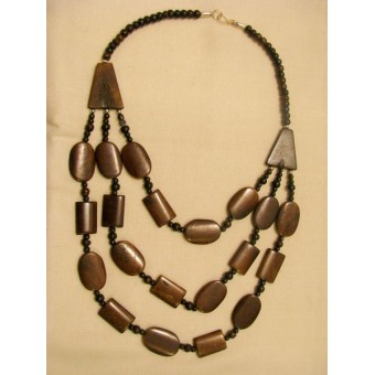 Three Layer C-Necklace
